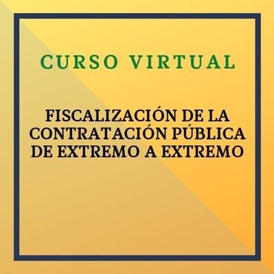 Fiscalización de la Contratación Pública de Extremo a Extremo. 18 marzo 2021