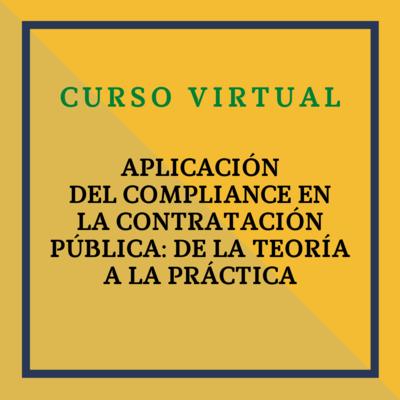 Jornada: Aplicación del Compliance en la Contratación Pública: de la teoría a la práctica. 17 de marzo de 2021