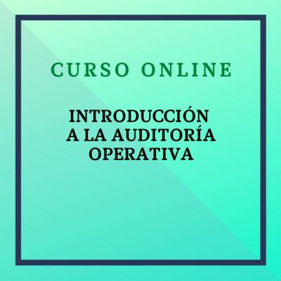 Introducción a la Auditoría Operativa. Del 4 al 31 de octubre de 2021