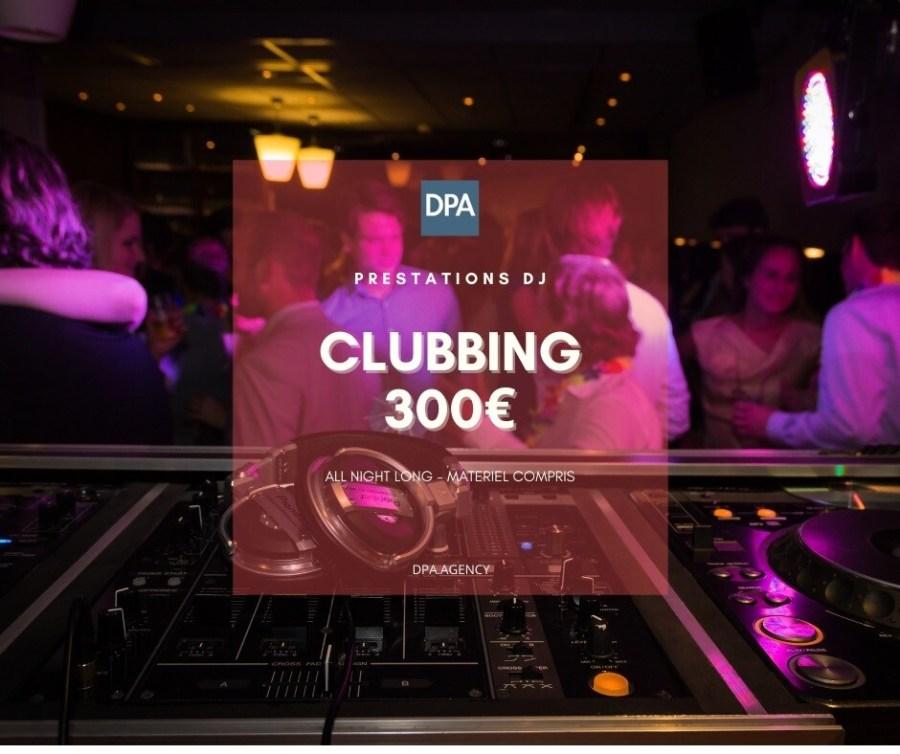Réserver un Dj bar pub Resto Clubbing
