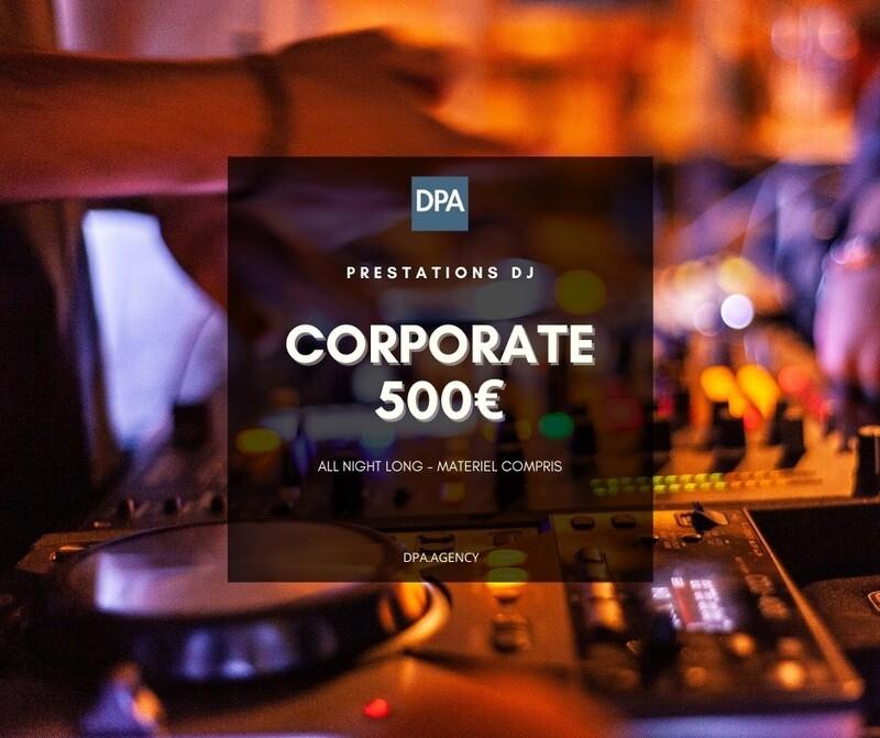 Réservation Dj / Corporate