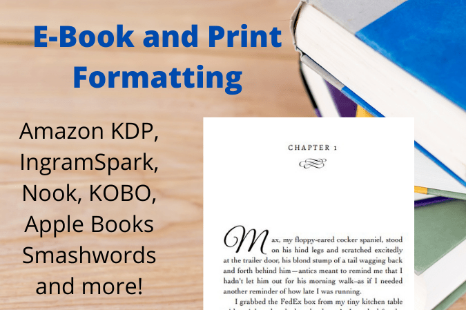 Book and eBook Formatting