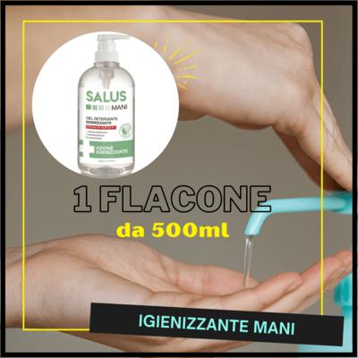 Disinfettante BIO con Aloe vera 500ml - SALUS MANI