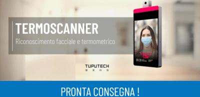 Tupucheck Pro,termoscanner riconoscimento facciale e termometrico