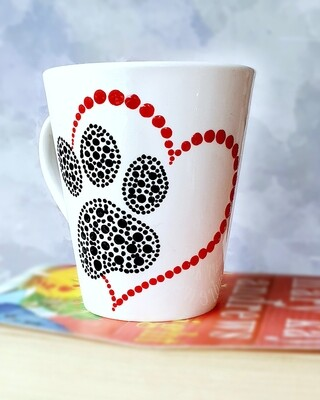Ceramic Mug - Paw Print