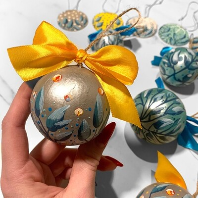 Joy - Christmas Ornaments / Decorations Set