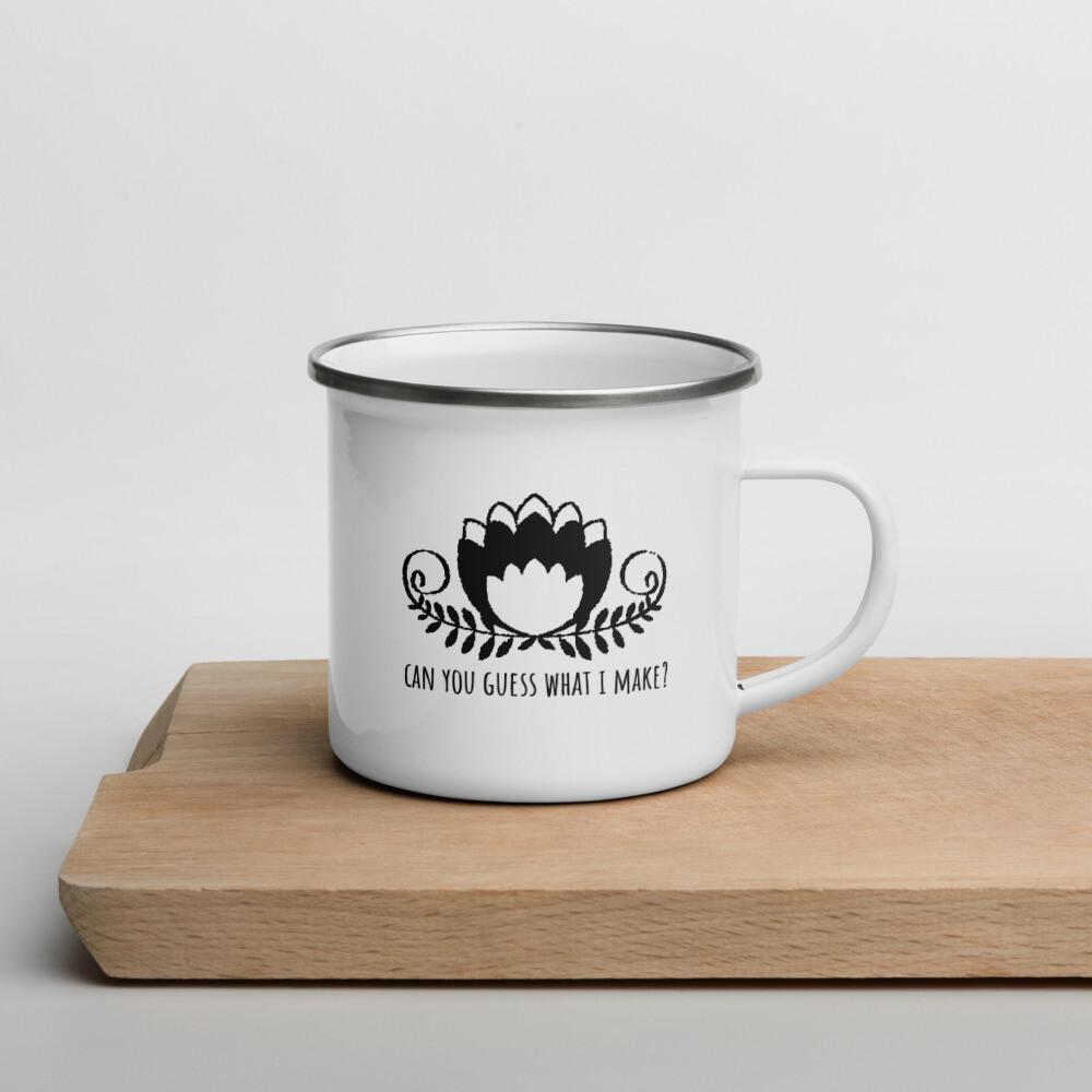 Enamel Mug - Can you guess what I make?