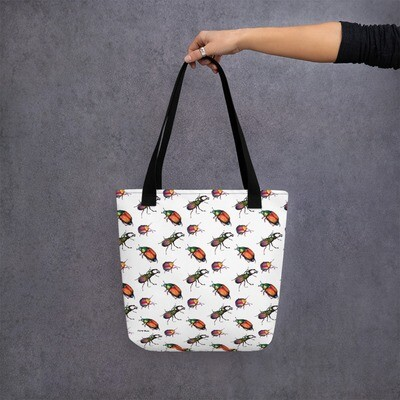 Tote Bug - Patterned Shopping Bag