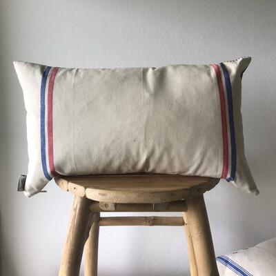 Vintage French Linen Pillow Case - Auvergne