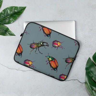 Laptop Sleeve - Funky Beetles