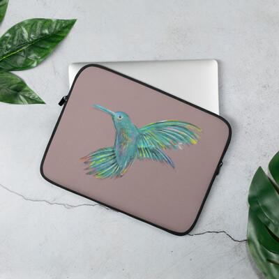 Laptop Sleeve - Humming Bird Print