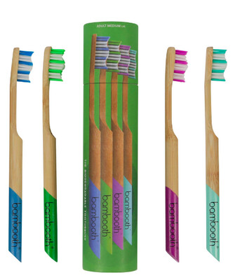 Bambooth Toothbrush Multipack Soft