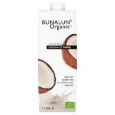 Bunalun Organic Coconut Milk 1Lt