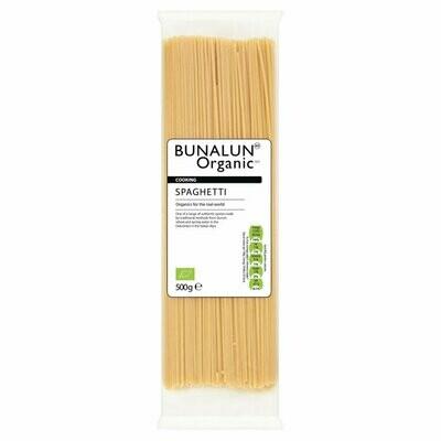 Bunalun Organic White Spaghetti 500g