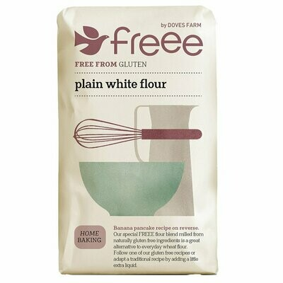 Doves Farm Gluten Free Plain White Flour 1kg