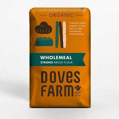 Doves Farm Organic Wholemeal Strong Bread Flour 1.5kg