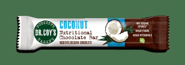 Dr Coys Coconut Nutritional Chocolate Bar 35g
