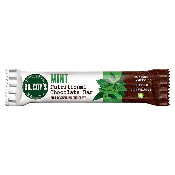 Dr Coys Mint Nutritional Chocolate Bar 35g