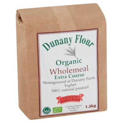 Dunany Organic Wholemeal Flour Extra Coarse 1.5Kg