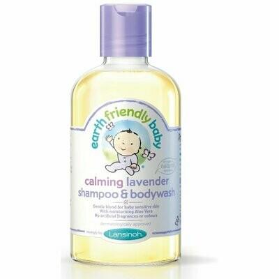Earth Friendly Baby Lavender Shampoo & Bodywash 250ml