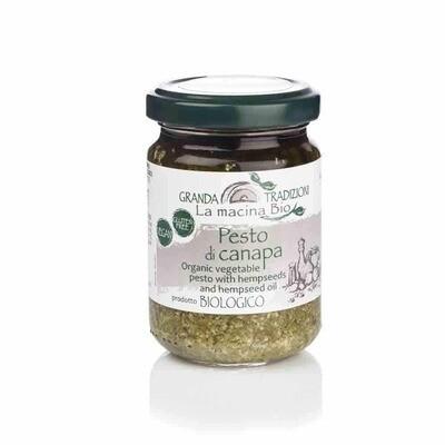Granda Tradizioni  Organic Pesto & Hemp Seeds 130g