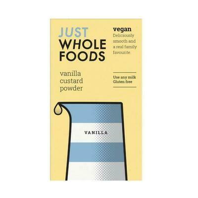 Just Wholefoods Vegan Vanilla Custard Powder 100g