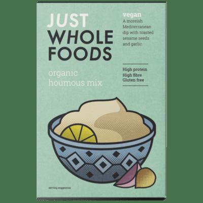Just Wholefoods Organic Vegan Houmous Mix 125g