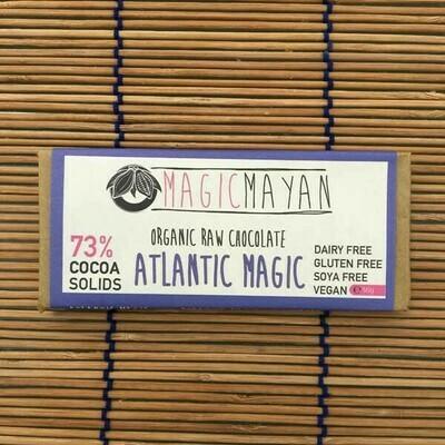 Magic Mayan Raw Organic Vegan Chocolate: Atlantic Magic 50g