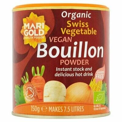 Marigold Organic Vegan Swiss Vegetable Bouillon Powder 150g