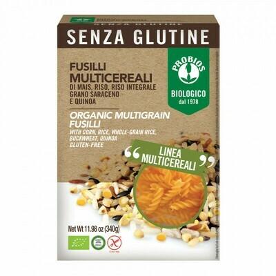 Probios Organic Multigrain Fusilli (Gluten Free) 340g
