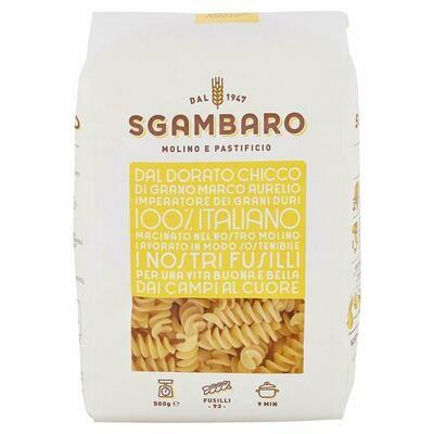 Sgambaro Pasta Fusilli No.93  500g