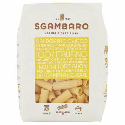 Sgambaro Pasta Tortiglioni No.89 500g