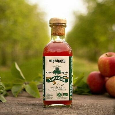 Highbank Orchards Organic Cider Vinegar with The Mother 500ml