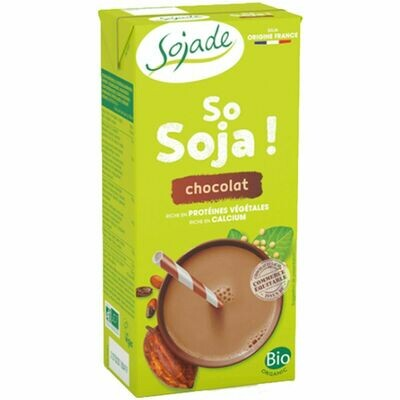 Sojade Soya & Chocolate with Calcium 1Lt