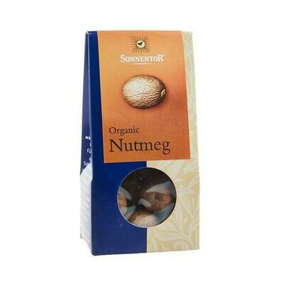 Sonnentor Organic Nutmeg Whole 25g