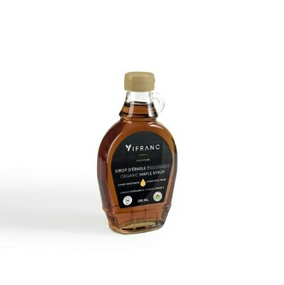 Vifranc Organic Maple Syrup 189ml