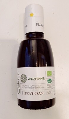 Provenzani Organic Extra Virgin Olive Oil With Wild Fennel 250ml