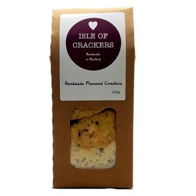 Isle of Crackers Handmade Flaxseed Crackers 150g