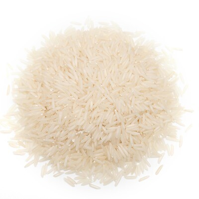 Loose Organic White Basmati Rice 100g