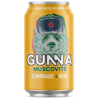 Gunna Muscovite Lemonade & Mint 330ml