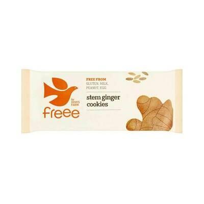 Doves Farm Organic Stem Ginger Gluten Free Cookies 150g