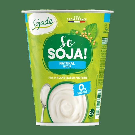 Sojade Organic Natural Soya Yoghurt 400ml
