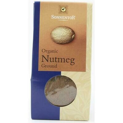 Sonnentor Organic Ground Nutmeg 30g