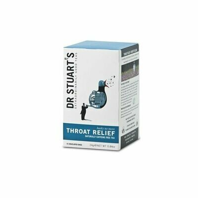 Dr Stuarts Throat Relief Infusion 15 Bags