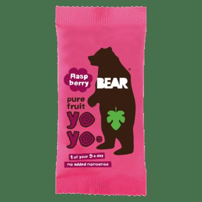 Bear Nibbles Raspberry Fruit Rolls 20g