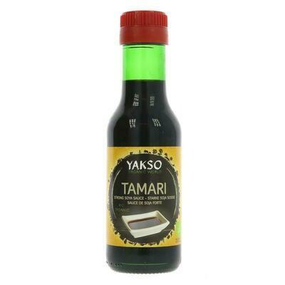 Yakso Organic Tamari Strong Soya Sauce 125ml