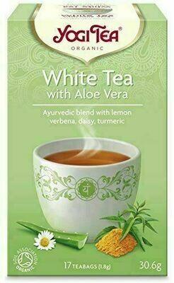 Yogi Organic White Tea with Aloe Vera 17 bags