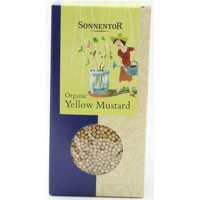 Sonnentor Organic Mustard Seeds 120g