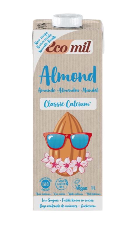 EcoMil Almond Classic Calcium 1lt