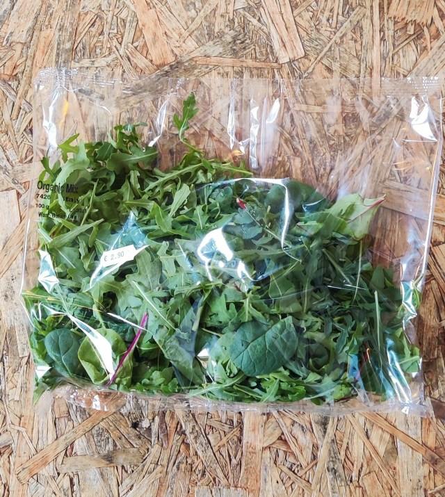 Organic Mixed Salad Leaves 100g